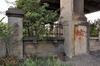 Vilvoordselaan, omheining onderbroken door de pijlers van de Albertbrug, ARCHistory / APEB, 2017