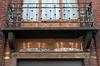 Rue Antoine Clesse 18, balcon du premier étage© (© APEB, 2017)