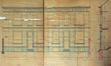Rue des Artistes 8 et 10, élévations et coupe des façades© AVB/TP Laeken 4344 (1894)