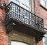 Rue des Artistes 14, balcon, (© APEB, 2017)