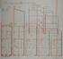 Rue des Artistes 74, plans terriers et coupe longitudinale© AVB/TP Laeken 3514 (1912)