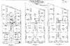 Rue des Artistes 78, plans des trois premiers niveaux, AVB/TP Laeken 4121 (1911)