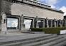 Palais 5, statues représentant les 'activités nationales', ARCHistory / APEB, 2018