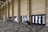 Palais 2, vue intérieure du portique, ARCHistory / APEB, 2011