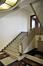 Bâtiment d'Administration, sous-sol, départ de l'escalier, ARCHistory / APEB, 2018