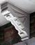 Rue du Champ de la Couronne 93, corbeau du balcon du premier étage, (© APEB, 2017)