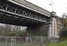 Pont de la rue Charles Demeer, vue vers le nord, partie droite© ARCHistory / APEB, 2017