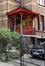 Rue des Chrysanthèmes 43, porche d'entrée, 2017
