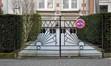 Rue de Laubespin 14, grille de la zone de recul, ARCHistory / APEB, 2018