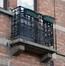 Rue de Laubespin 42, balcon au premier étage, ARCHistory / APEB, 2018