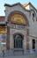 Rue Dieudonné Lefèvre 4, anciens établissements Byrrh, angle coupé© ARCHistory / APEB, 2018