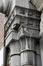 Rue Edmond Tollenaere 47, détail de l'encadrement de la porte, 2017