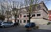 Rue Edmond Tollenaere 56-58, façade arrière du bâtiment à rue, bâtiment arrière, 2017