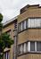 Boulevard Émile Bockstael 67, détail des étages côté boulevard, 2017