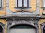 Boulevard Émile Bockstael 138-142, détail de la travée axiale, 2017
