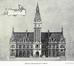 Place Émile Bockstael, ancien hôtel communal, projet définitif© ( L'Émulation, 11, novembre 1922, p. 164)