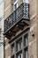 Boulevard Émile Bockstael 334 - rue de Ter Plast 105, balcon du deuxième étage côté boulevard, 2017