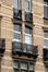 Boulevard Émile Bockstael 334 - rue de Ter Plast 105, baies au deuxième étage côté rue, 2017