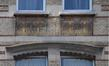 Boulevard Émile Bockstael 334 - rue de Ter Plast 105, sgraffite au dernier étage côté rue, 2017