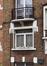 Rue Émile Delva 45, fenêtre du rez-de-chaussée© ARCHistory / APEB, 2018