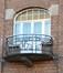 Rue Ernest Salu 104, porte-fenêtre du premier étage, ARCHistory / APEB, 2018