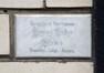 Avenue Jean Sobieski 36, plaquette au rez-de-chaussée© ARCHistory / APEB, 2018