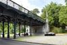 Pont Sobieski, vue vers le square Clémentine© ARCHistory / APEB, 2018