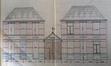 Rue Laneau 103-105, société Yphandi, élévation originelle© AVB/TP Laeken 6230 (1910)