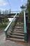Passerelle piétonne enjambant l'A12, escalier côté avenue de Meysse, ARCHistory / APEB, 2018