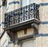 Rue du Champ de l'Église 119, balcon du premier étage, 2017