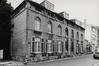 Rue Médori 2 et rue de Vrière 45, la façade à rue en 1982, AVB/FI C-23991