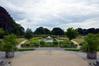 Les Jardins du Fleuriste, vue depuis le belvédère est vers le sud, 2017