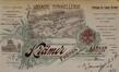 Rue Mellery 40 à 48, en-tête de lettre de la Grande Tonnellerie Krämer Frères en 1905© AVB/TP Laeken 5810 (1905)