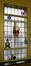 Rue de Molenbeek 38, Crèche Ernest Salu, cage d'escalier, vitrail de 1962, 2015