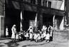 Vue de la façade arrière de la Crèche Clémentine dans les années 1930, (Archives de la Crèche Ernest Salu)