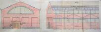 Rue des Palais Outre-Ponts 420, élévations © AVB/TP 42304 (1921)