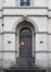 Paleizenstraat over de Bruggen 458-462, voormalig gemeentehuis, inkom, 2017