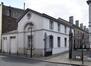 Paleizenstraat over de Bruggen 458-462, voormalig gemeentehuis, paviljoen links, 2017