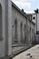 Paleizenstraat over de Bruggen 458-462, voormalige gemeenteschool, rechter zijgevel, 2017