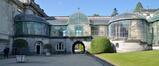 Couloir de verre reliant le château au Jardin d'Hiver, 2020
