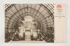 Serres royales de Laeken, sortie de la serre du Congo, s.d, Collection Belfius Banque - Académie royale de Belgique ©ARB-urban.brussels