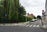 Romeinsesteenweg 345 tot 359, zicht op de tuinwijk vanop de steenweg© ARCHistory / APEB, 2018