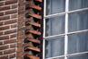 Avenue Prudent Bols 72, détail d'une fenêtre, 2017
