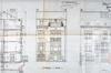 Avenue Prudent Bols 91, coupe et élévations façades avant et arrière© AVB/TP 42866 (1922)