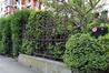 Avenue Richard Neybergh 9, grille du jardinet, 2017
