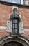 Avenue Richard Neybergh 106, lanterne surmontant la porte, 2017