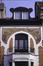 Avenue Richard Neybergh 160, second étage, avant rénovation du sgraffite et remplacement du châssis, (Ch. Bastin & J. Evrard © SPRB)