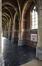Place Saint-Lambert 38, église Saint-Lambert, bas-côté gauche, vue vers l'entrée© ARCHistory / APEB, 2018