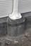 Rue du Siphon 1 – rue Charles Ramaekers 4, vitrine latérale droite, base de la colonne© ARCHistory / APEB, 2018