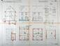 Cité du Verregat, plans de la maison de type D© AVB/TP 55065 (1925)